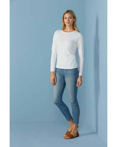 SOFTSTYLE® LADIES' LONG SLEEVE T-SHIRT